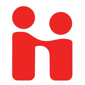 Red Handshake logo