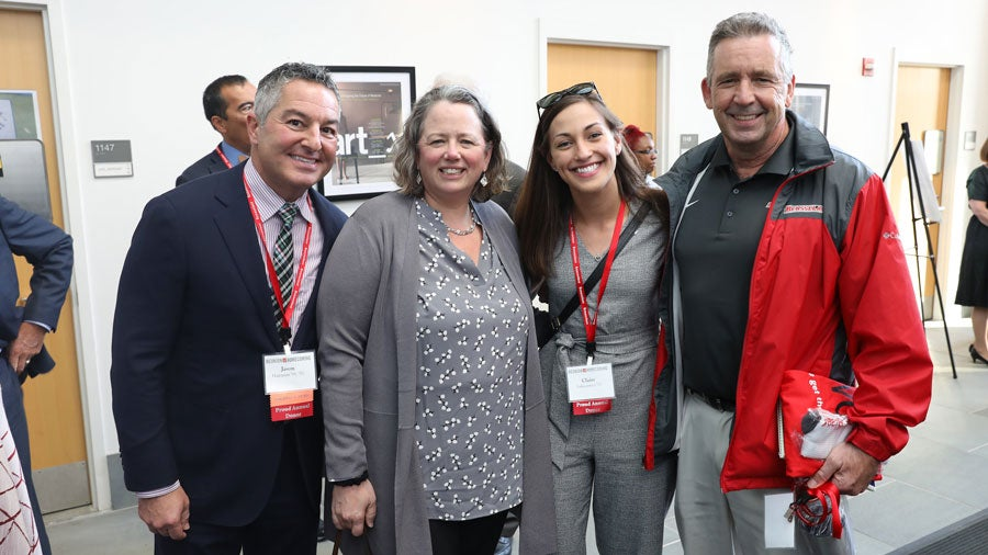 Alums gather for Reunion and Homecoming
